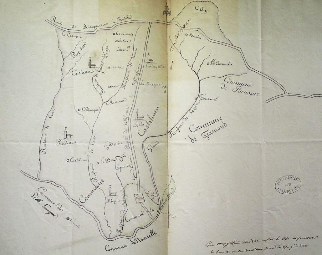 Ancienne commune de Castelnau