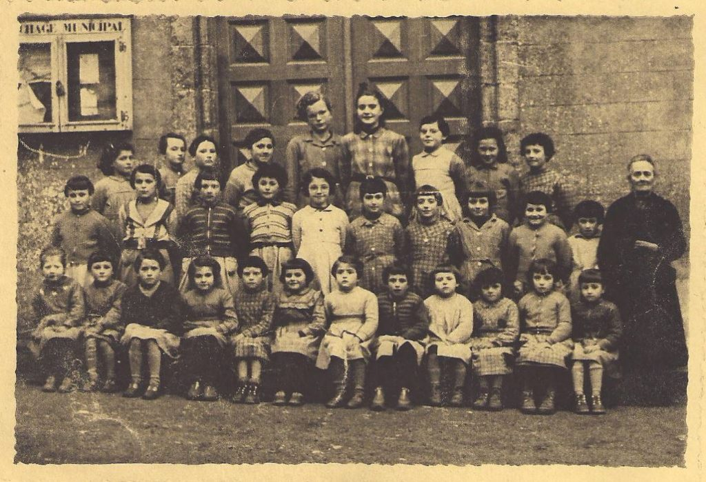 Ecole des filles - 1958